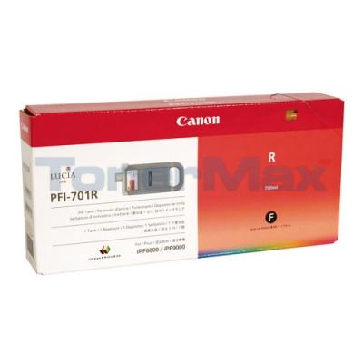 CANON PFI-701R INK RED 700ML